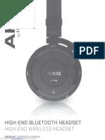AKG830 manual