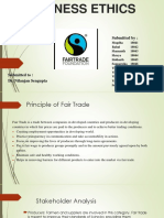 Fair trade Business ethics