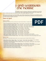 Heroes and Villians Hobbit