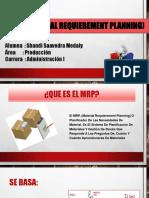 MRP ( Material Requierement Planning)