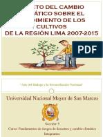 EFECTO DEL CAMBIO CLIMÁTICO SOBRE EL RENDIMIENTO DE.pptx