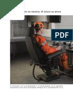 Automatización en Minería