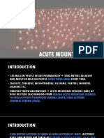 Acute Mountain Sickness Ppt