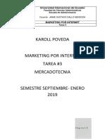 Marketing Por Internet Tarea 3