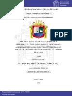 Calizaya Charaja Silvia Pilar