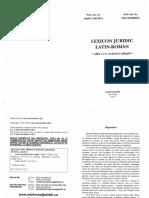 Lexicon Juridic Latin Roman (1)