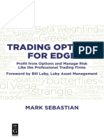 Trading Options for Edge Profit from Options and Manage Risk Like the Professional Trading Firms.epub