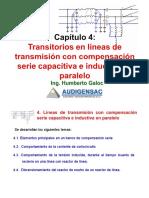 4.0 Transitorios en Líneas de Transmisión Con Compensación Serie Capacitiva e Inductiva en Paralelo(21)