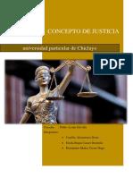 El Concepto de Justicia