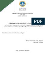 Fabio Gianotti - Educatori Di Professione e Resilienza_ Storie Di Motivazione in Prospettiva Fenomenologica (2014)