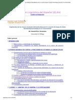 Chantal Pérez, Explotación de Los Córpora Textuales Informatizados Para La Creación de Bases de Datos Terminológicas Basadas en El Conocimiento