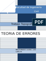 Topografia(Teoria de Errores