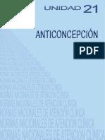 NACs UNIDAD 21 Anticoncepcion