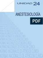 NACs UNIDAD 24 Anestesiologia