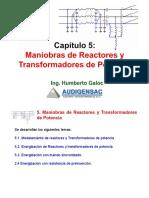 5.0 Maniobras de Reactores y Transformadores de Potencia(11)