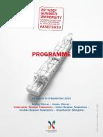 Asefsu20 Programme Vladivostok