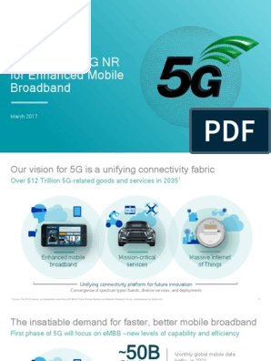Accelerating 5g New Radio Nr for Enhanced Mobile Broadband and