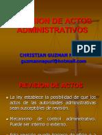 Revision de Actos