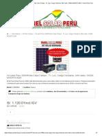Kit Solar Peru 300Wh_dia