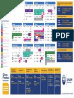 Calendario Academico 2018 Carreras Semestrales