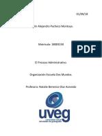 Evidencia Organizacion Escuela Dos Mundos