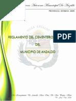 Reglamento General Del Municipio de Anzaldo
