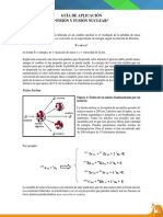 Guía - Fisión y Fusión Nuclear
