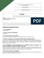 2018-2 EMP - Atividade - Plano de Negocios FRANQUIA