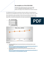 Demanda Energética en El Perú (1)