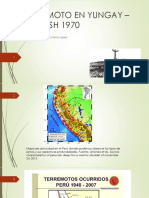 Terremoto en Yungay – Ancash 1970