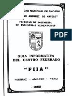 Guía Informativa Del Centro Federado Fiia