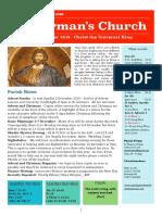 st germans newsletter - 25 november 2018