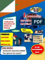 Bases Del Concurso Distrital 29 de Nobiembre
