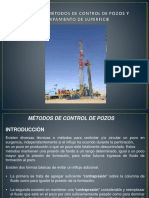Unidad III Métodos de Control de Pozos y Equipamiento de Superficie-1
