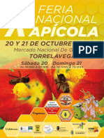 Feria Nacional Apicola Torrelavega
