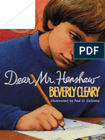 [Beverly Cleary] Dear Mr. Henshaw (Rpkg) (Avon Cam(BookSee.org).en.es