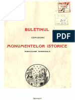 Buletinul Comisiunii Monumentelor Istorice, An 35 (1942)