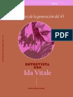 Entrevista Con Ida Vitale