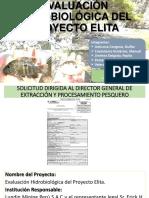 Evaluación Hidrobiológica del Proyecto ELITA