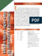 Glosario Basico Tecnico Informatica y Tecnologia