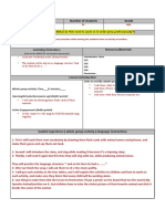 lesson plan template-story