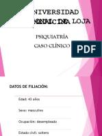 A Caso Clinico Psiquiatria