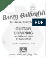 Barry Galbraith - Jazz Guitar Study Vol. 3 - Guitar Comping (Aebersold, 1986)