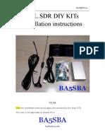 Rtl Sdr Diy Kits Installation Instructions