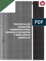 Protocolos de actuación