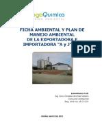 Pma y Ficha Ambiental a y j