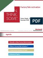 FactoryTalk Activation Customer
