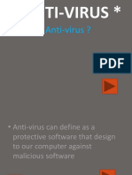 about antiviruses pptx format