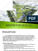 Ppt Ke-2 Arsitektur Ekologi (Ahmad Shobi f.i)-1722024