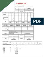 1.Staff Evaluation Form